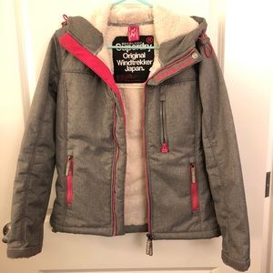 Superdry Jacket, soft inside & thick